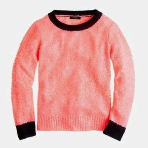J.Crew Scattered Sequin Sweater Pullover Crewneck